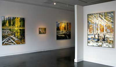 Paintings Gail Severn Gallery
